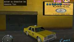 Ford Crown Victoria LTD 1985 Taxi pour GTA Vice City