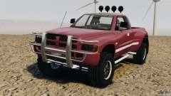 Dodge Ram 2500 Army 1994 v1.1 für GTA 4