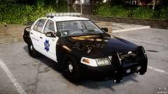 Ford Crown Victoria SFPD K9 Unit [ELS] für GTA 4