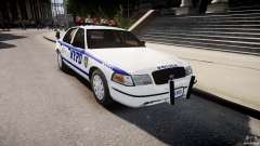 Ford Crown Victoria Police Department 2008 NYPD pour GTA 4