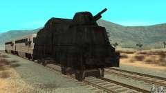 Deutscher Panzerzug der zweiten Welt