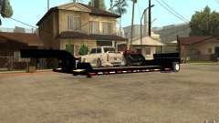 Trailer lowboy transport