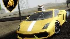Lamborghini Gallardo LP640 Vallentino Balboni für GTA San Andreas