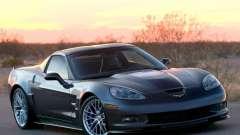 Chargement des écrans Chevrolet Corvette