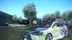 Mitsubishi Lancer Evolution X - Tuning für GTA San Andreas