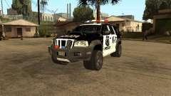 Jeep Grand Cherokee police K-9