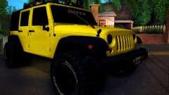 Jeep Wrangler 4x4 für GTA San Andreas