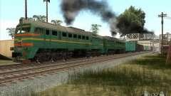 Fracht Lokomotive baltischen Staaten Eisenbahn B