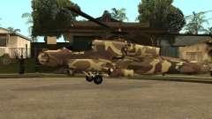 Nouvelles Textures pour le chasseur pour GTA San Andreas
