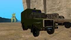 3309 GAZ fourgon cellulaire