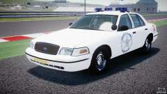 Ford Crown Victoria US Marshal [ELS] pour GTA 4
