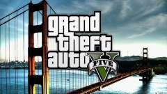 Boot-Bildschirme im Stile von GTA 5