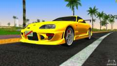 Toyota Supra JZA80 C-West für GTA Vice City