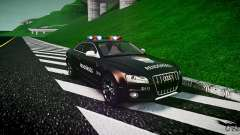 Audi S5 Hungarian Police Car black body