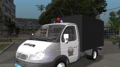 GAZ 3302 Polizei