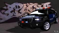 NFS Undercover Police SUV