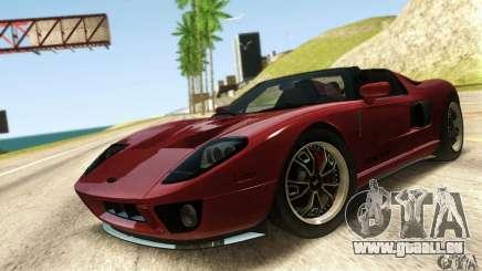 Ford GTX1 Roadster V1.0 für GTA San Andreas