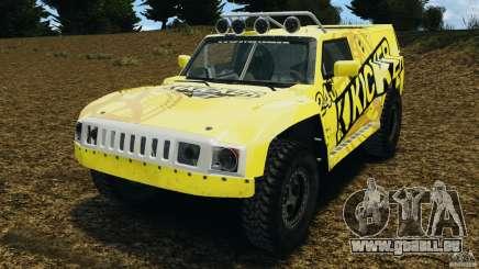 Hummer H3 raid t1 pour GTA 4