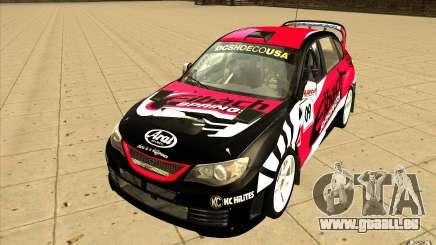 Nouveaux vinyles pour Subaru Impreza WRX STi pour GTA San Andreas