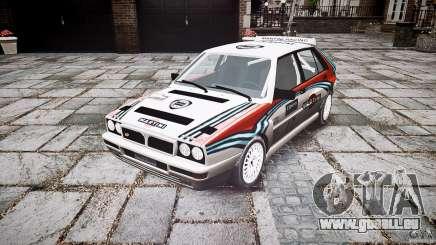 Lancia Delta Integrale Martini 1992 pour GTA 4