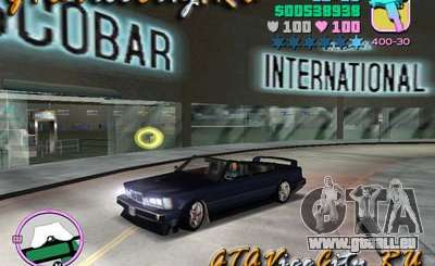 BMW M6 Cabrio pour GTA Vice City