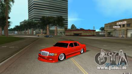 Mercedes-Benz W126 Wild Stile Edition pour GTA Vice City