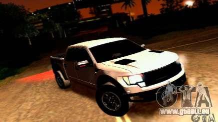 Ford Raptor Crewcab 2012 pour GTA San Andreas