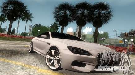 BMW M6 Coupe 2013 pour GTA San Andreas