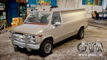 Chevrolet G20 Vans V1.1 pour GTA 4
