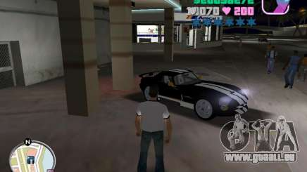 Dodge Viper Hennessy 800 für GTA Vice City