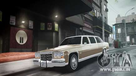 Cadillac Fleetwood 1985 pour GTA 4