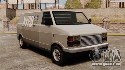 Nouvelle coloration pour van poney pour GTA 4