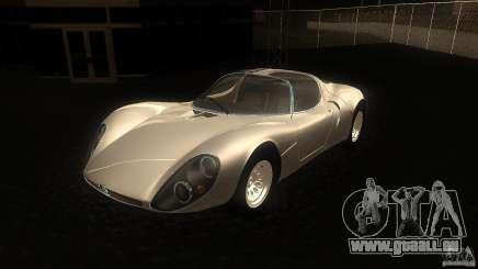 Alfa Romeo Tipo 33 Stradale für GTA San Andreas