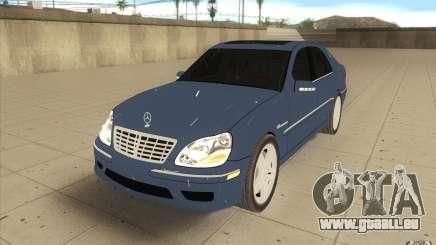 Mercedes-Benz S-Klasse für GTA San Andreas