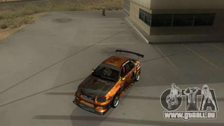 Subaru Impreza WRX Team Orange DRIFT SA-MP pour GTA San Andreas