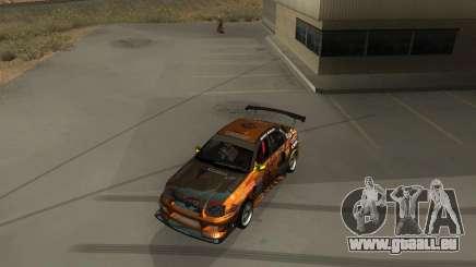Subaru Impreza WRX Team Orange DRIFT SA-MP für GTA San Andreas
