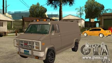 GMC Van 1983 für GTA San Andreas