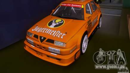 Alfa Romeo 155 v6 DTM Jagermeifter pour GTA San Andreas