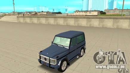 Mercedes-Benz G500 1999 Short [with kangoo v2] pour GTA San Andreas