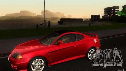 Hyundai Tiburon V6 Coupe 2003 pour GTA San Andreas
