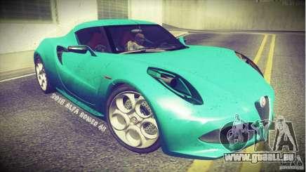 Alfa Romeo 4C V1.0 2013 für GTA San Andreas