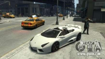 Lamborghini Reventon Roadster REDUX [EPM] pour GTA 4