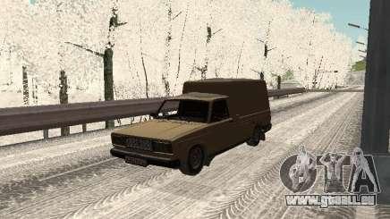 IZH 27175 édition hiver pour GTA San Andreas