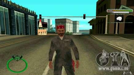 Mechanik HD Skin pour GTA San Andreas