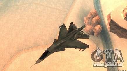 Die Su-34 für GTA San Andreas