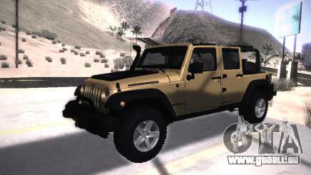 Jeep Wrangler Rubicon Unlimited 2012 pour GTA San Andreas