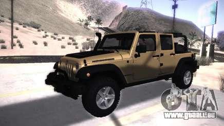Jeep Wrangler Rubicon Unlimited 2012 für GTA San Andreas