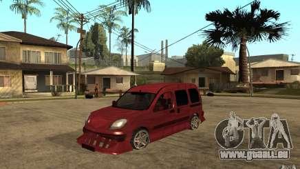 Renault Kangoo Tuning pour GTA San Andreas