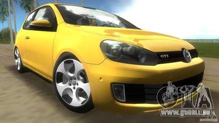 Volkswagen Golf 6 GTI pour GTA Vice City