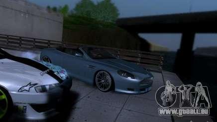 Aston Martin DB9 Volante 2006 für GTA San Andreas